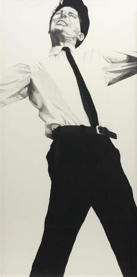 Robert Longo-Untitled (Jules)-1981