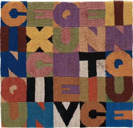 Alighiero Boetti-Cinque x cinque venticinque-1988