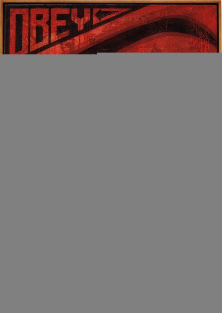 Shepard Fairey-Eye Alert (Red)-2010