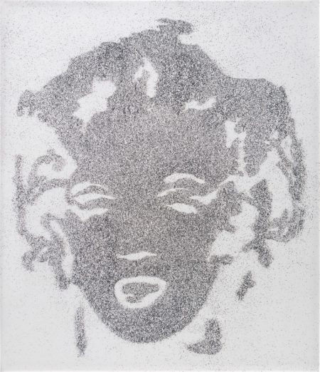 Vik Muniz-Reversal Grey Marilyn-2003