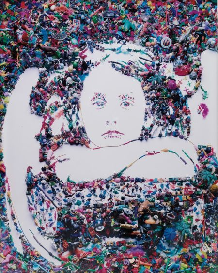 Vik Muniz-I Wait After Julia Margaret Cameron-2004