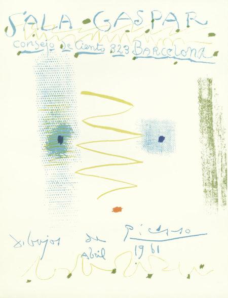 Pablo Picasso-Sala Gaspar-1961