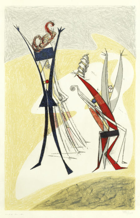 Max Ernst-Rythmes-1950