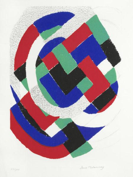 Sonia Delaunay-Untitled-1971