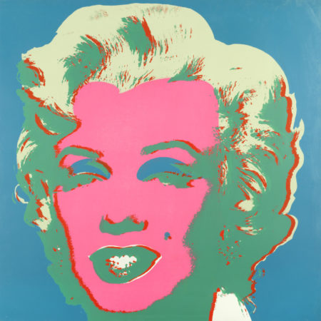 Andy Warhol-After Andy Warhol - Marilyn-