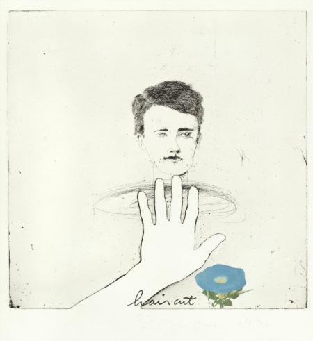 Jim Dine-Blue Haircut-1973