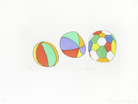Donald Baechler-3 Balls-1999