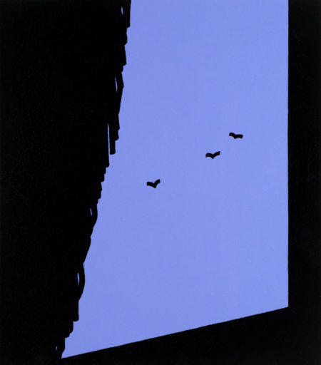Patrick Caulfield-Ah! So this Life is so everyday, from 'Some Poems of Jules Laforgue'-1973