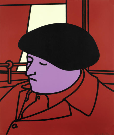Patrick Caulfield-Portrait of a Frenchman (Cristea 22)-1971