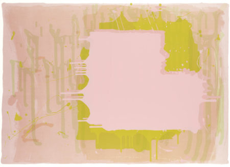 John Hoyland-Untitled (Abstract Composition), from 'Mark Rothko Memorial Portfolio'-1973