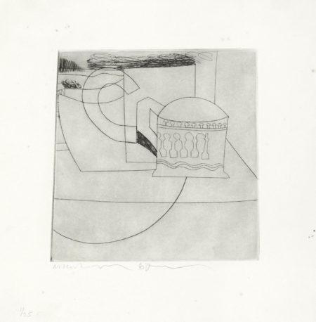 Ben Nicholson-Small Still Life-1967
