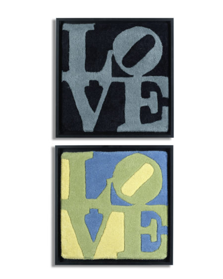 After Robert Indiana - Spring Love; Winter Love-2006