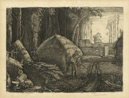 Graham Sutherland-Pecken Wood-1925
