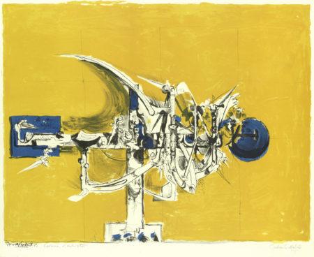 Graham Sutherland-Thorn Cross-1955