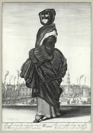 Wenceslaus Hollar-The Four Seasons (full-length)-1644