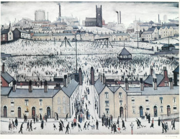 Laurence Stephen Lowry-Britain at Play