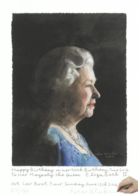Peter Blake-Her Majesty the Queen Elizabeth II. (Happy Birthday...!)-2016
