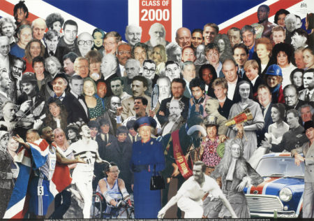 Peter Blake-Class of 2000 - Great British Achievers-2000