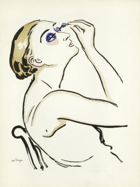 Kees van Dongen-Le Rimmel (Femme se Maquillant)-1920