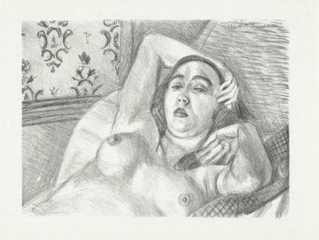 Henri Matisse-Le repos du modele-1922
