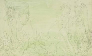 Austin Osman Spare-Allegory-1967