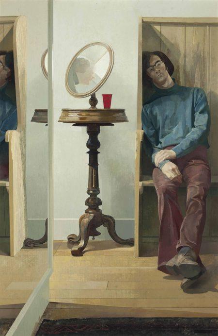Norman Blamey-Reflections-