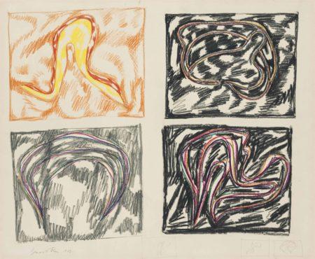 Bernard Cohen-Untitled 1962-1962