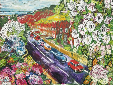 John Bratby-The Road to Hastings-1988