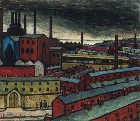 Alan Lowndes-Seaport Skyline-1972