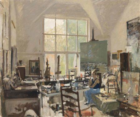 Ken Howard-Meloney Resting, South Bolton Gardens-