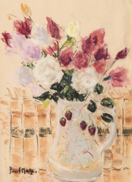 Paul Maze-Roses in a jug-