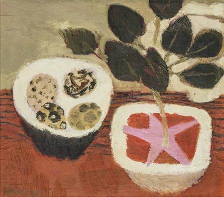 Mary Fedden-Bowl of Eggs-1980