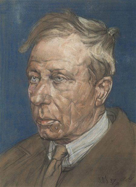 Austin Osman Spare-Portrait of a man-1937