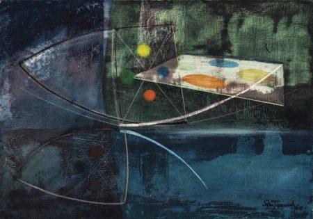 John Tunnard-Reflection-1960