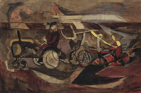 Michael Rothenstein-Tractor and Plough-