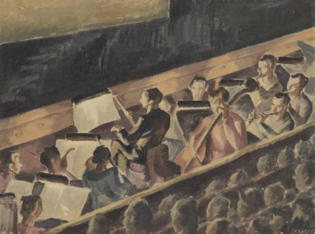 Therese Lessore-The Orchestra-