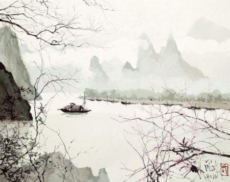 Pang Jiun - Heavenly Landscape-2016