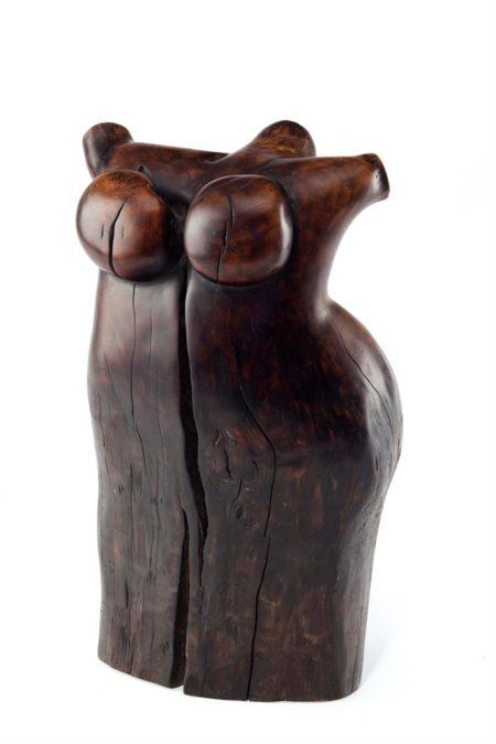 Wang Keping-Untitled (Little Woman)-2002