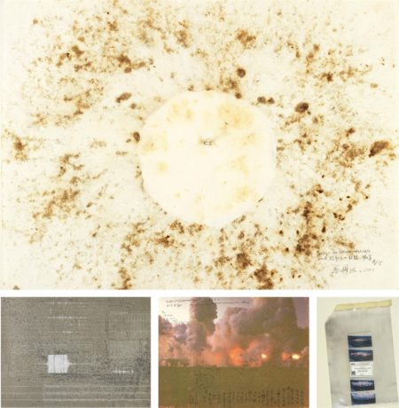 Cai Guo Qiang - Fetus Movement Ii: Project For Extraterrestrials No. 9-1992