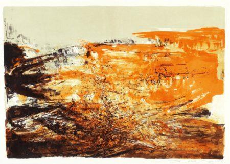 Zao Wou-Ki-Untitled-1969