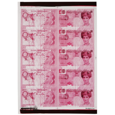 Banksy-Di-Faced Tenners A/P (Pink)-2004
