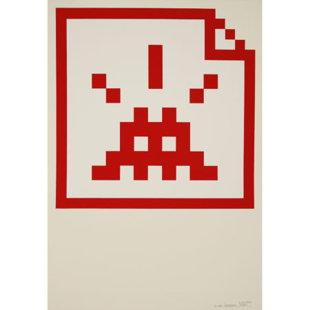 Invader-Space File (Red)-2006