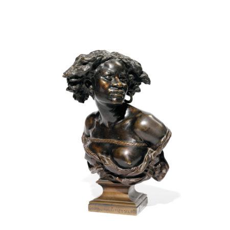Jean-Baptiste Carpeaux-Buste De Negresse-