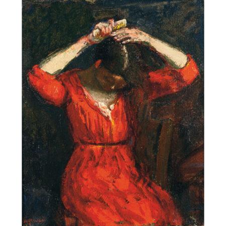 Rene Seyssaud-La Robe Rouge-