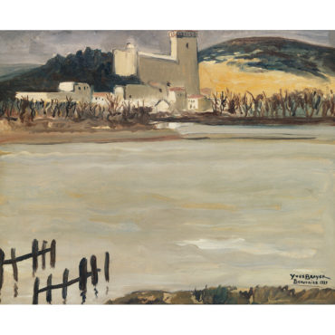 Yves Brayer-Le Rhone A Beaucaire-1939