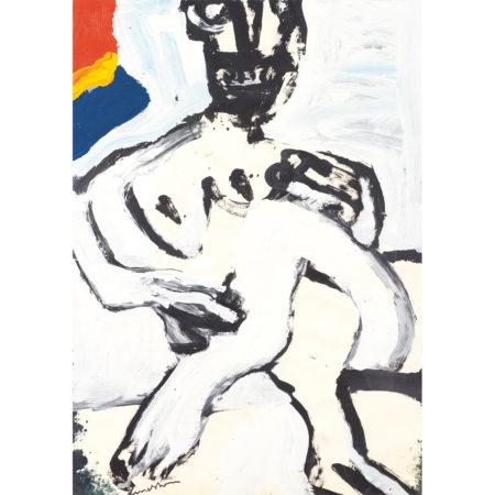 Bengt Lindstrom-Femme Assise-1981