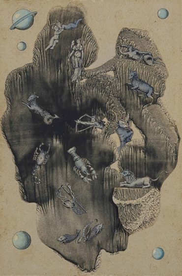 Yves Tanguy-Sans titre (Zodiac)-1940
