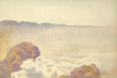 Charles Maurin-La mer-