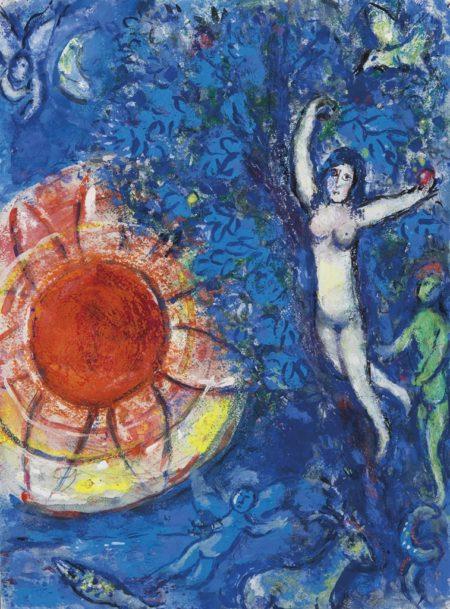 Marc Chagall-Autour de la creation-1960
