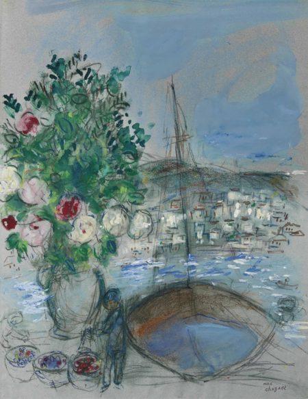 Marc Chagall-Poros-1954